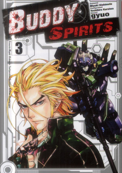 Couverture buddy spirits tome 3