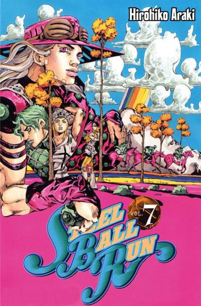 Couverture jojo's bizarre adventure - steel ball run tome 7