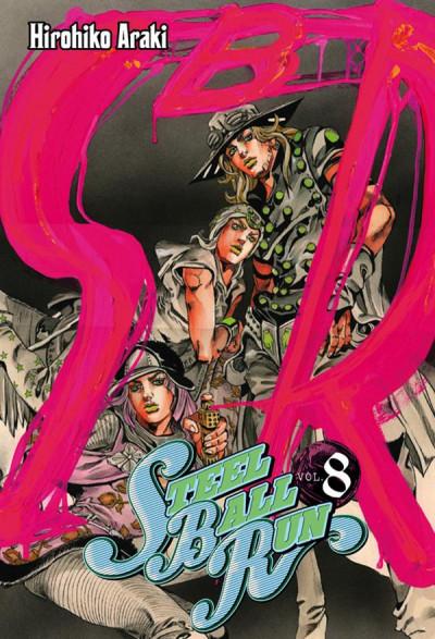 Couverture jojo's bizarre adventure - steel ball run tome 8