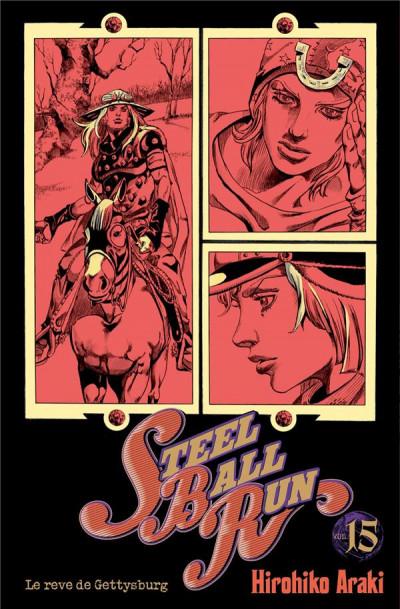 Couverture Jojo's Bizarre Adventure - Steel Ball Run tome 15