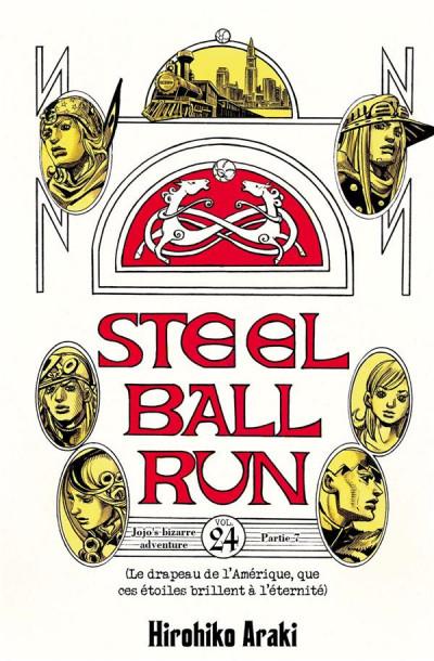 Couverture Jojo's bizarre adventure - Steel ball run tome 24