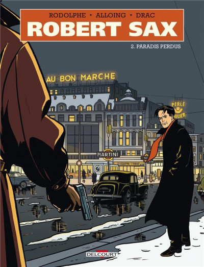 Couverture Robert Sax tome 2