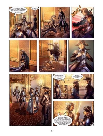 Page 3 La rose écarlate tome 11