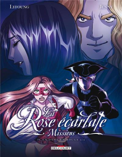 Couverture La rose écarlate - missions tome 4
