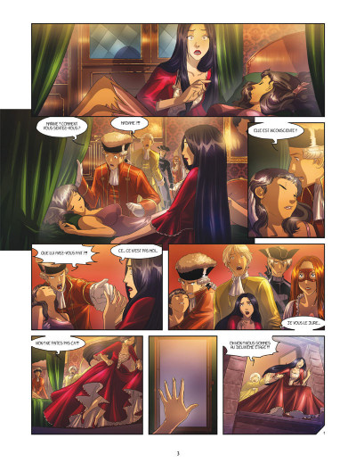 Page 1 La rose écarlate - missions tome 4