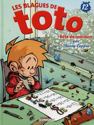 Couverture Les blagues de Toto tome 12