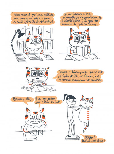 Page 2 Michel, un chat sauvage
