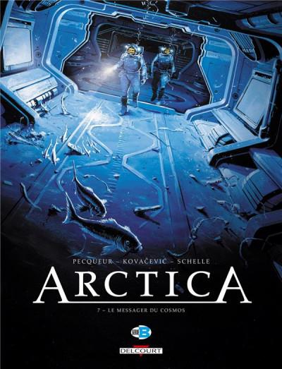 Couverture Arctica tome 7 - Le Messager du cosmos