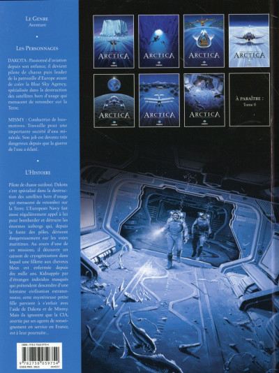 Dos Arctica tome 7 - Le Messager du cosmos