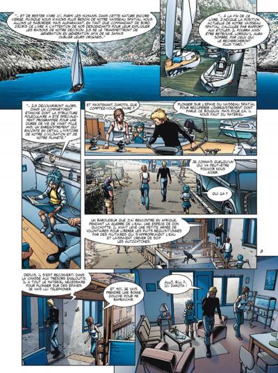 Page 3 Arctica tome 7 - Le Messager du cosmos