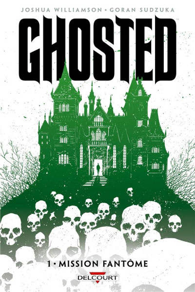Couverture Ghosted tome 1 - Mission fantôme