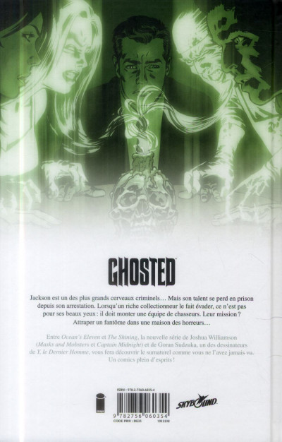 Dos Ghosted tome 1 - Mission fantôme