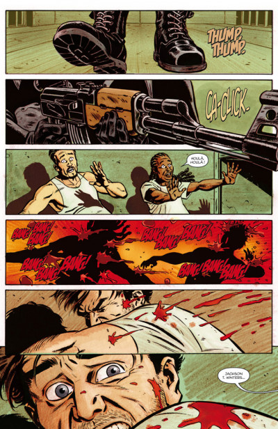 Page 4 Ghosted tome 1 - Mission fantôme