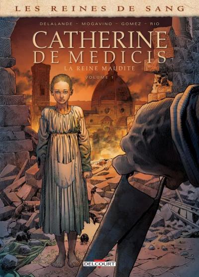 Couverture Reines de sang - Catherine de Médicis, la reine maudite tome 1 + ex-libris offert