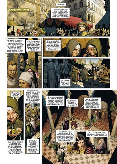 Page 4 Reines de sang - Catherine de Médicis, la reine maudite tome 1 + ex-libris offert