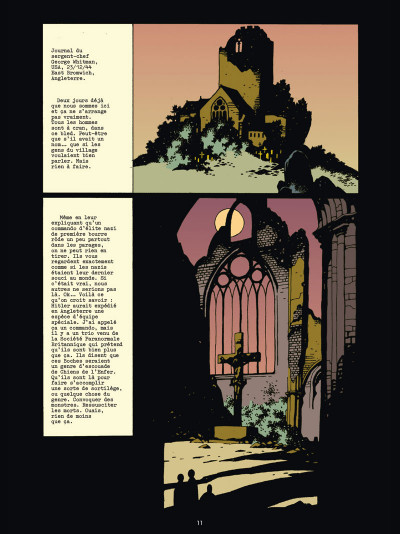 Page 1 Hellboy deluxe tome 1 - Les germes de la destruction & Au nom du diable