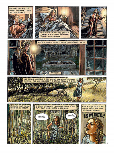 Page 4 Les pierres rouges tome 2