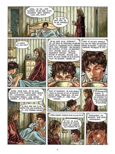 Page 9 Les pierres rouges tome 2