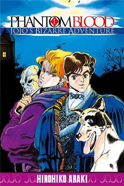 Couverture Jojo's Bizarre Adventure - Phantom Blood tome 1