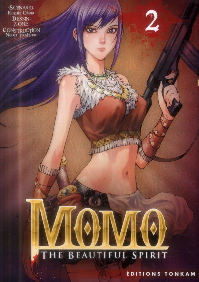 Couverture Momo - The Beautiful Spirit tome 2