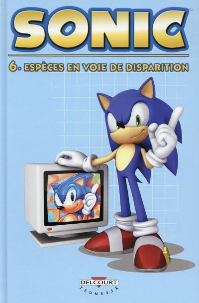 image de Sonic tome 6 - Espèces en voie de disparition