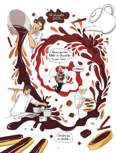 Page 1 Les secrets du chocolat  - Voyage gourmand dans l'atelier de Jacques Génin