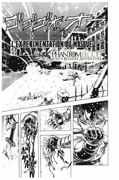 Page 6 Jojo's Bizarre adventure - Phantom Blood tome 2