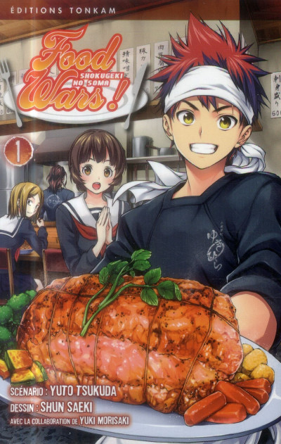 Couverture Food Wars tome 1