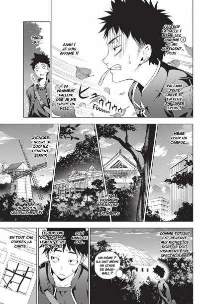 Page 8 Food Wars tome 2