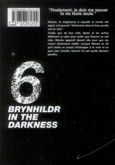 Dos Brynhildr in the Darkness tome 6