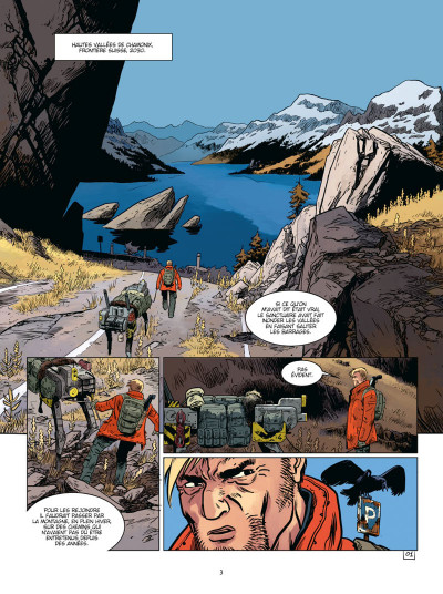 Page 1 Soleil froid tome 1