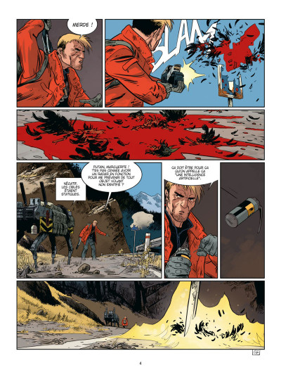 Page 2 Soleil froid tome 1