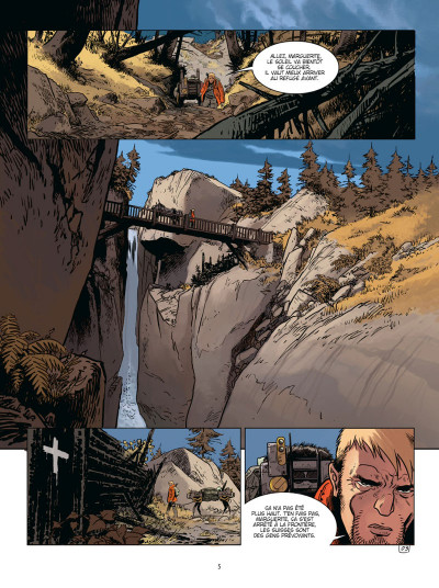 Page 3 Soleil froid tome 1