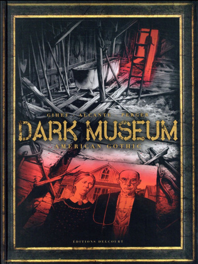 Couverture Dark Museum tome 1