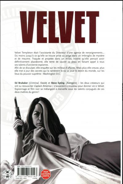 Dos Velvet tome 3