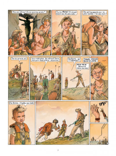Page 3 Le Cycle de Cyann tome 3 - Aïeïa d'Aldaal