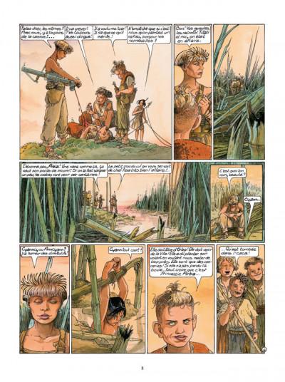 Page 4 Le Cycle de Cyann tome 3 - Aïeïa d'Aldaal