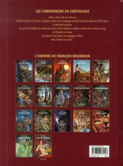 Dos Les Compagnons du crépuscule tome 2 - Les Yeux d'Étain de la Ville Glauque