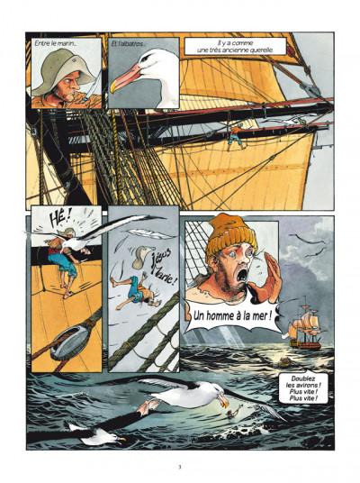 Page 1 Les Passagers du vent tome 1 - La Fille sous la Dunette
