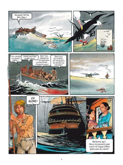 Page 2 Les Passagers du vent tome 1 - La Fille sous la Dunette