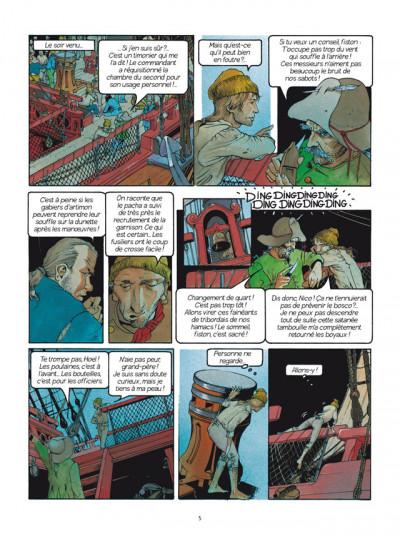 Page 3 Les Passagers du vent tome 1 - La Fille sous la Dunette