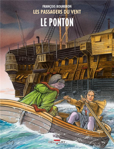 Couverture Les Passagers du vent tome 2 - Le Ponton