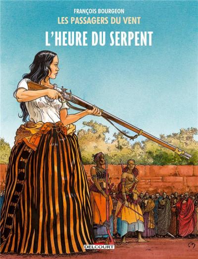 Couverture Les Passagers du vent tome 4 - L'Heure du Serpent