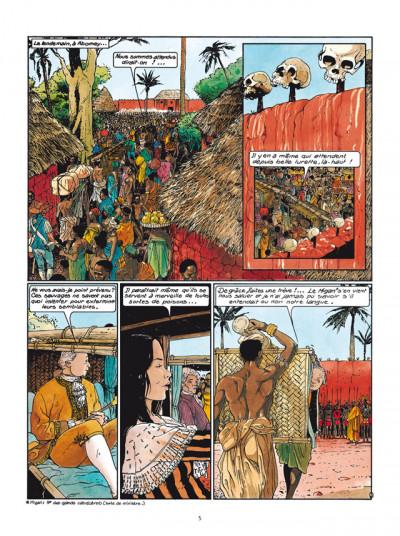 Page 3 Les Passagers du vent tome 4 - L'Heure du Serpent