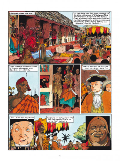 Page 4 Les Passagers du vent tome 4 - L'Heure du Serpent