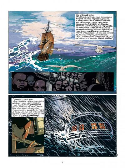 Page 1 Les Passagers du vent tome 5 - Le Bois d'Ebène