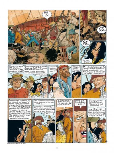 Page 4 Les Passagers du vent tome 5 - Le Bois d'Ebène