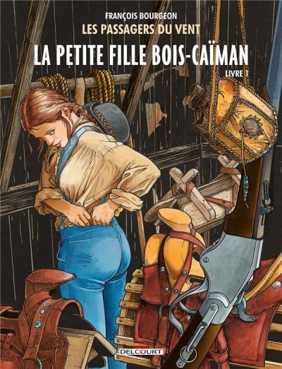 Couverture Les Passagers du vent tome 6 - La Petite Fille Bois-Caïman - Livre 1