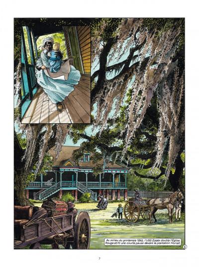 Page 1 Les Passagers du vent tome 6 - La Petite Fille Bois-Caïman - Livre 1