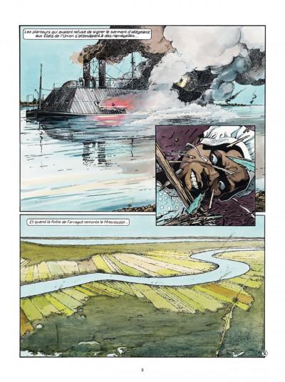 Page 2 Les Passagers du vent tome 6 - La Petite Fille Bois-Caïman - Livre 1